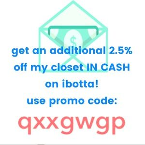 Earn cash back EVERY TIME you shop on Poshmark!!